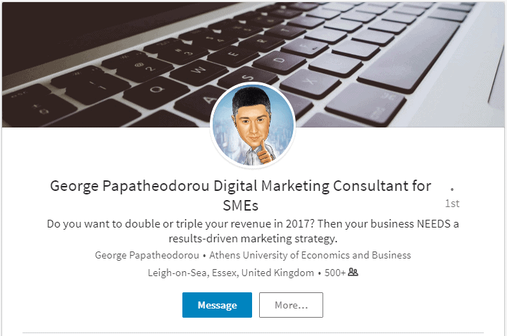 George Papatheodorou - LinkedIn Profile
