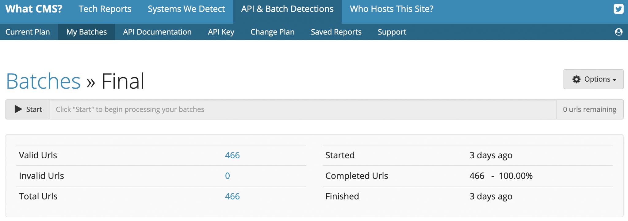 What CMS API