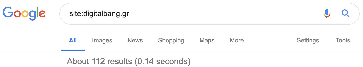 Site Search Operator
