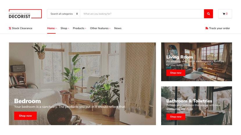 DECORIST WooCommerce / Business WordPress Theme